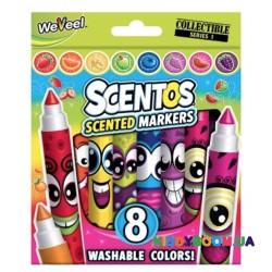 Набор ароматных маркеров Плавная линия (8 шт) Scentos 40605