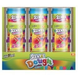 Ароматная масса для лепки Энергия фруктов (4 шт) Scentos 45521