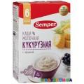 Каша молочная Semper Кукурузная с черникой (с 6-ти мес.) 250 г