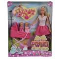 Кукольный набор Штеффи с коляской Steffi & Evi 5738060