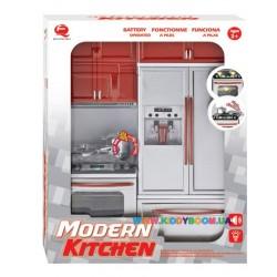 Кукольная кухня Современная-1 Qun Feng Toys 26212