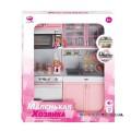 Кукольная кухня Маленькая хозяюшка-5 Qun Feng Toys 26216Р/R
