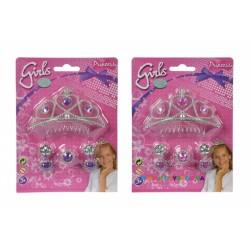 Набор украшений Тиара принцессы с серьгами и кольцом Simba 5560039