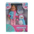 Кукла Эви со снеговиком Steffi &Evi 5732805