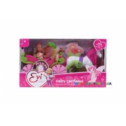 Кукольный набор Эви и сказочная карета с конем Steffi &Evi 5735754