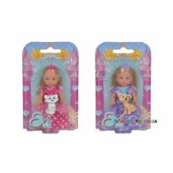 Кукла Эви-принцесса с питомцем Steffi & Evi 5736260