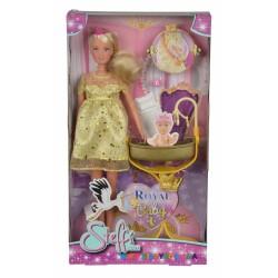 Кукла Штеффи беременная с люлькой для малыша Steffi & Evi 5737084