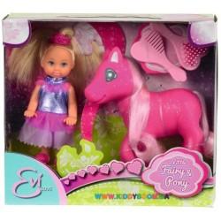 Кукольный набор Эви-принцесса и пони Steffi & Evi 5738667