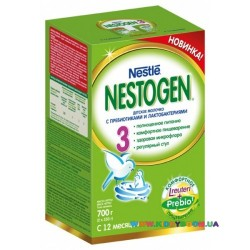 Сухая молочная смесь Nestle Нестожен 3, 700 гр.