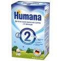 Сухая молочная смесь Humana 2 с пребиотиками 600 гр.