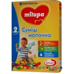 Молочная смесь Nutrica Milupa 2, 350 гр