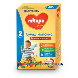 Молочная смесь Nutrica Milupa 2, 600 гр