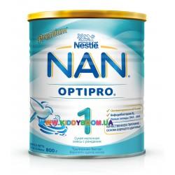 Сухая молочная смесь Nestle NAN 1 800 гр.