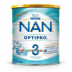 Сухая молочная смесь Nestle NAN 3 800 гр.