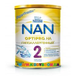 Сухая молочная смесь Nestle NAN 2 H.A. гипоаллергенный 400 гр.