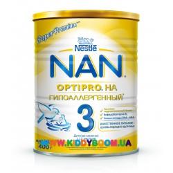 Сухая молочная смесь Nestle NAN 3 (гипоаллергенный), 400 гр