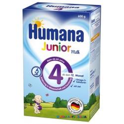 Растворимое молочко Humana Джуниор 600 гр