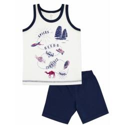 Пижама для мальчика р.92-116 Smil 104381