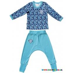 Пижама для мальчика р-р 80-86 Smil 104215