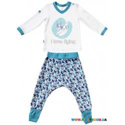 Пижама для мальчика р-р 80-86 Smil 104216