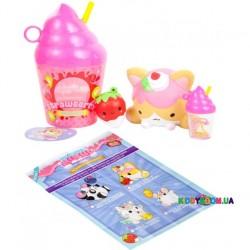 Набор ароматных игрушек-сюрпризов антистресс Сквиш-Мякиш Стаканчик Смузи SmooshyMushy 174933