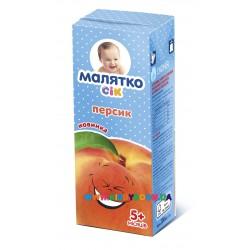 Сок Малятко абрикос (с 5 мес.) 200 мл