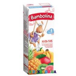 Сок Bambolina нектар мультифруктовый (с 8-ми мес.) 200 мл