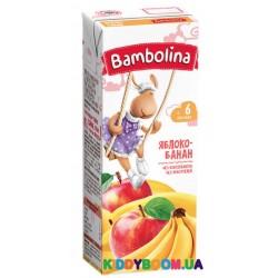 Сок Bambolina нектар яблочно-банановый (с 6-ти мес.) 200 мл