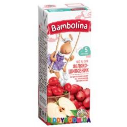Сок Bambolina  яблоко-шиповник (с 5-ти мес.) 200 мл