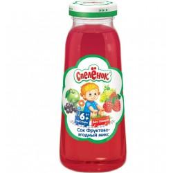 Сок Спеленок «Фруктово-ягодный микс» (с 6 мес.) 200 мл