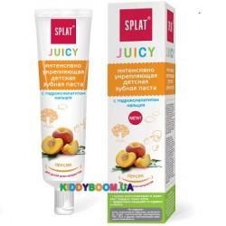 Детская зубная паста Juicy Peach Splat ДЧ-180, 35 мл.