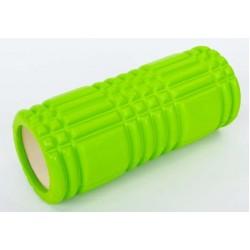 Массажный ролик валик для йоги и фитнеса MS 0857-3 Салатовый