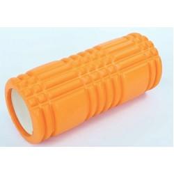Массажный ролик валик для йоги и фитнеса MS 0857-3 Оранжевый