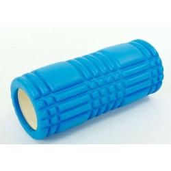 Массажный ролик валик для йоги и фитнеса MS 0857-3 Синий