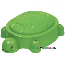 Песочница-бассейн с крышкой Черепашка Starplast 07-518