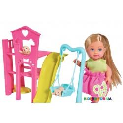 Кукольный набор Эви Парк развлечений для животных Steffi & Evi 5733074