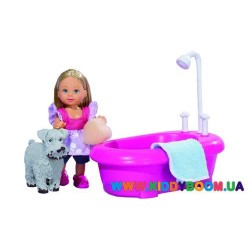 Кукла Эви моет собачку Steffi&Evi 5733094