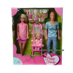 Кукольный набор Штеффи Счастливая семья Steffi & Evi 5733200