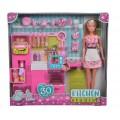 Кукольный набор Кухня Студия с аксессуарами Steffi & Evi 5733342