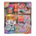 Кукольный набор Simba Эви Сюрприз со щенком и аксессуарами 5733384 в ассортименте