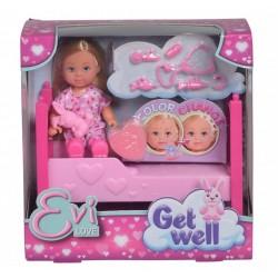 Игровой набор Steffi & Evi 5733407 Куколка Эви Легкое выздоровление