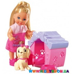"""Кукольный набор Эви """"Дом моего песика"""" Steffi & Evi 5735867"""