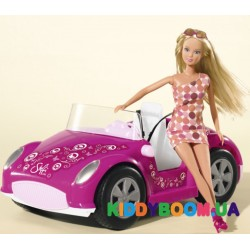 Кукольный набор Штеффи в кабриолете Steffi & Evi 5738332