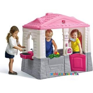 "Детский домик ""NEAT & TIDY Cottage"" pink Step2 41360"