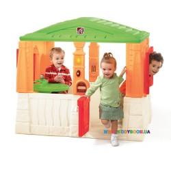 """Детский домик """"NEAT & TIDY Cottage"""" orange Step2 41365"""