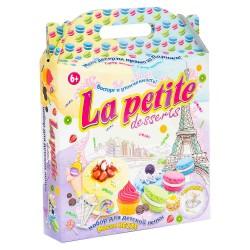 Набор масса для лепки La petite desserts Strateg 71309