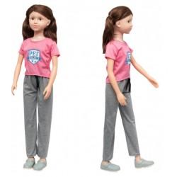 Кукла классическая, умеющая ходить 100 см дизайн-1 SumSum sum950041