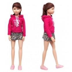 Кукла классическая, умеющая ходить 100 см, дизайн-2 SumSum sum950058