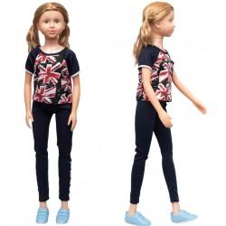 Кукла классическая, умеющая ходить 100 см, дизайн-3 SumSum sum950065