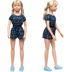 Классическая кукла, умеющая ходить 100 см, дизайн-4 SumSum sum950072